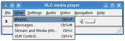 VLC Open Playlist